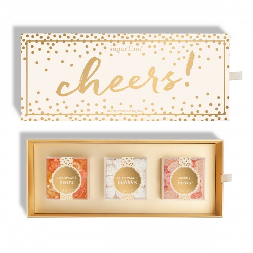 Sugarfina Cheers 3pc Bento Box